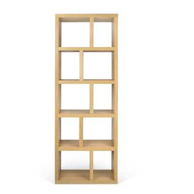 Berlin Geometric Bookcase Finish: Oak - Perigold