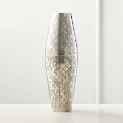 Ether Etched Boston Cocktail Shaker - CB2