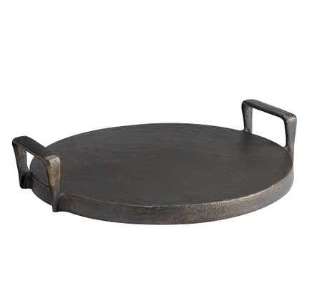 Forged Metal Serving Tray - Pottery Barn