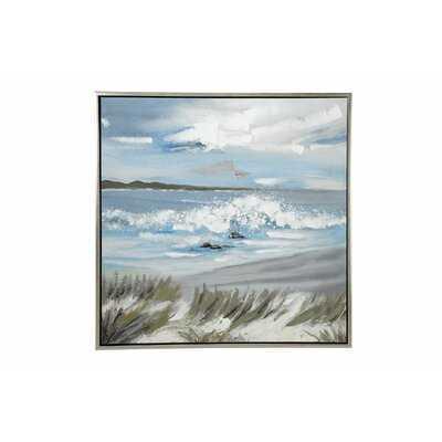 Beach Framed Painting - Wayfair