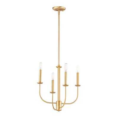 Schiessler 4 - Light Candle Style Classic Chandelier - Wayfair