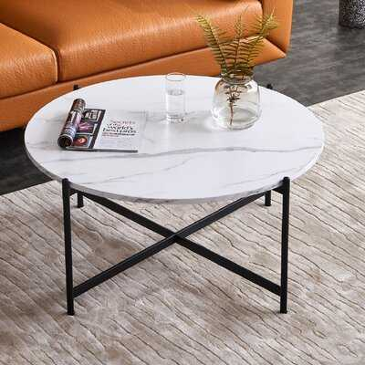 Amaia Cross Legs Coffee Table - Wayfair