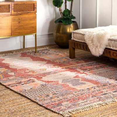 Vintage Flatweave Hermina Area Rug - Loom 23