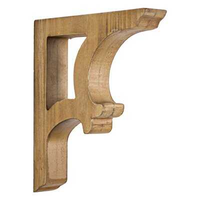 Eades 2 Piece Wooden Corbels Shelf Brackets Vintage Farmhouse Wall Décor Set - Wayfair