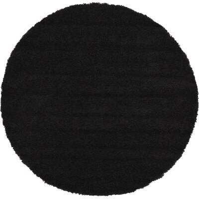 Marsily Jet Black Area Rug - Wayfair