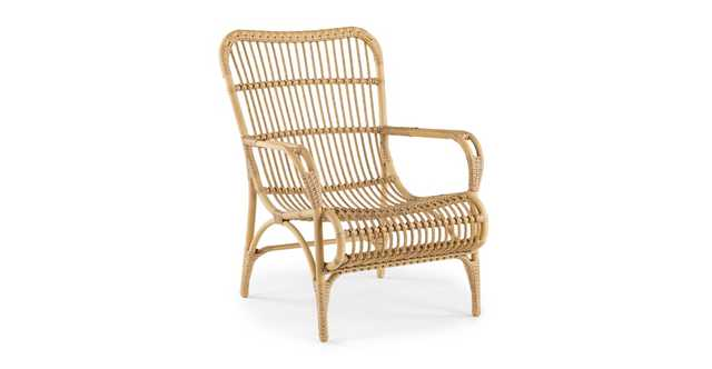 Trella Natural Lounge Chair - Article