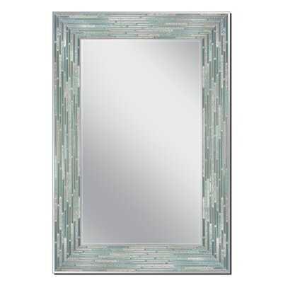 Kaiser Sea Glass Rustic Venetian Wall Mirror - Wayfair