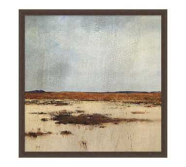 """Midlands 2 Framed Matted Print, 19"""" x 19"""" - Pottery Barn"""