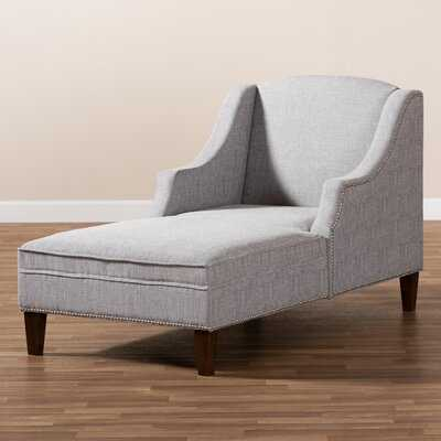 Cetus Fabric Upholstered Chaise Lounge - Wayfair