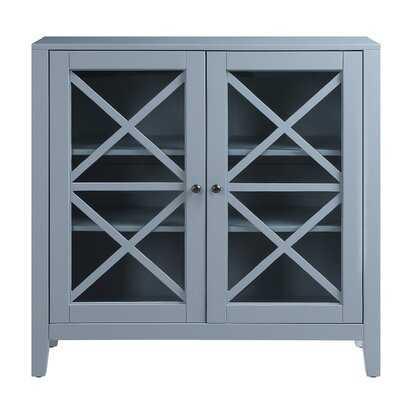 Edinburgh Double Glass Door-Moss - Wayfair