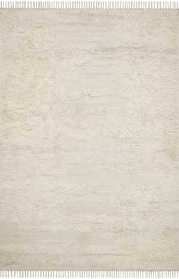 """ED Ellen DeGeneres Crafted by Loloi ABBOT ABB-04 NATURAL / IVORY 5'-0"""" x 7'-6"""" - ED Ellen DeGeneres Crafted by Loloi Rugs"""