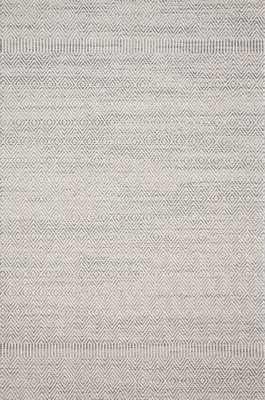 """Loloi Cole COL-02 Grey / Bone 2'-7"""" x 10'-0"""" - Loma Threads"""