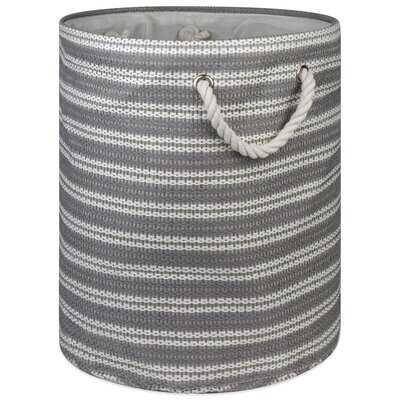 Round Fabric Bin - Wayfair