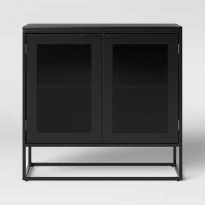 Glasgow Metal 2 Door Cabinet Black - Project 62 - Target