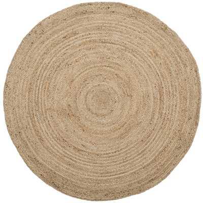 Torey Round Rug, 6'x6' - Haldin