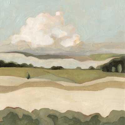 'Cumulus Landscape I' Painting on Canvas - Wayfair