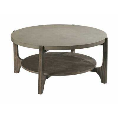 Nordland Floor Shelf Coffee Table with Storage - Wayfair