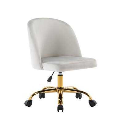 Eneas Velvet Task Chair - Wayfair