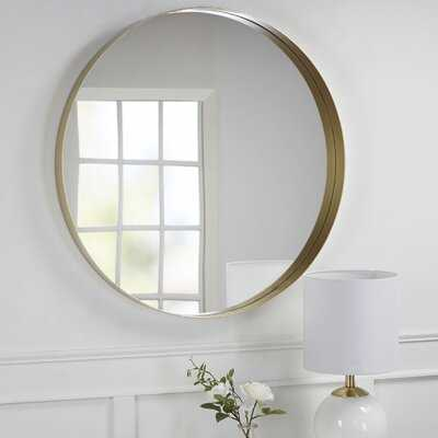 Jarrard Round Wall Mirror - Wayfair