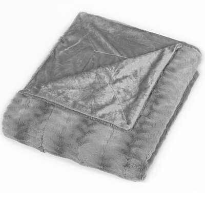 Luxe Mink Fur Blanket - Birch Lane