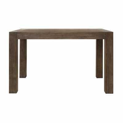 Ario Rubberwood Solid Wood Dining Table - Wayfair