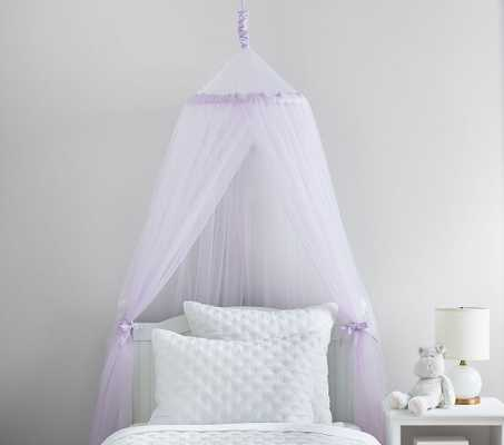Lavender Classic Tulle Canopy - Pottery Barn Kids