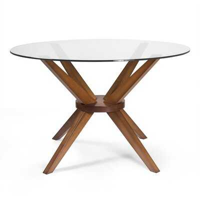 Cassidy Solid Wood Dining Table - Wayfair