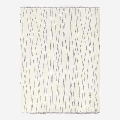 Safi Rug, 10'x14', Stone White - West Elm