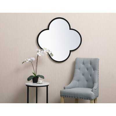 Dibiase Metal Plum Modern and Contemporary Beveled Accent Mirror - Wayfair