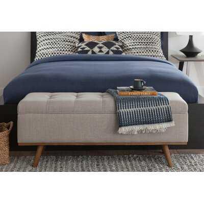 Rick Upholstered Storage Bench - AllModern