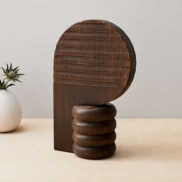 Diego Olivero Wood Decorative Object, Silhouette - West Elm