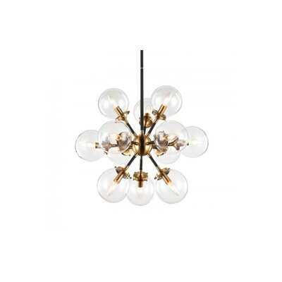 Neysa 12 - Light Sputnik Sphere Chandelier - Wayfair