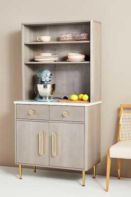 Odetta Storage Cabinet By Tracey Boyd in Grey - Anthropologie