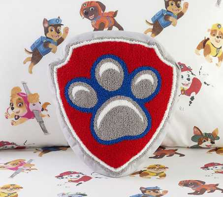 PAW Patrol(TM) Shield Pillow, Shaped, Multi - Pottery Barn Kids