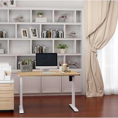 Home Office Height Adjustable Standing Desk - Wayfair