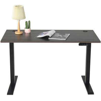 Electric Height Adjustable Standing Desk - Wayfair