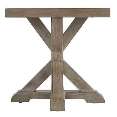Fearne Pedestal Pedestal End Table - Wayfair