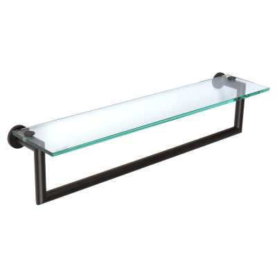 "Ginger Kubic Wall Shelf Size: 24"", Finish: Matte Black - Perigold"