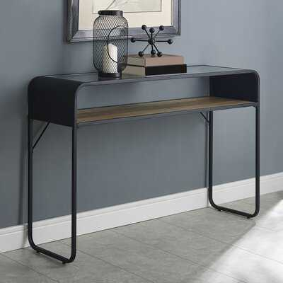 "Buckhurst Industrial Entryway 46"" Console Table - Wayfair"