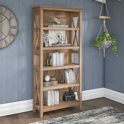 Cyra 65.98'' H x 31.73'' W Standard Bookcase - Wayfair