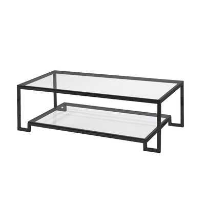 Wathena Frame Coffee Table with Storage - Wayfair