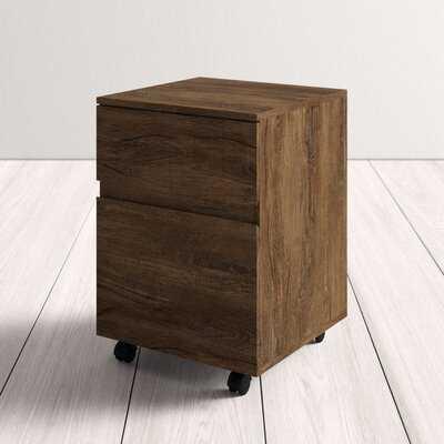 Kittredge 2-Drawer Mobile Vertical Filing Cabinet - AllModern