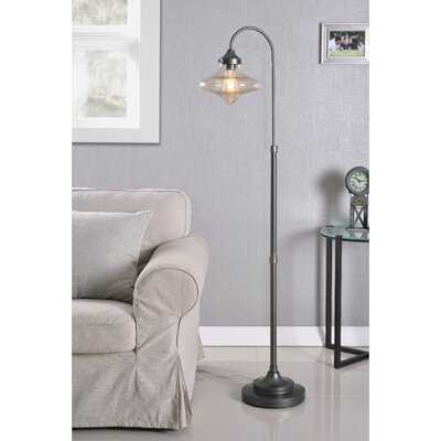 "Winifred 59"" Arched Floor Lamp - Birch Lane"