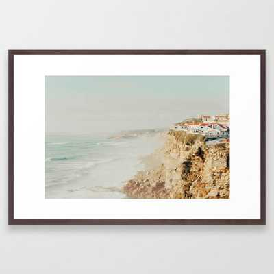 Ocean View Framed Art Print by Ingrid Beddoes Photography - Conservation Walnut - LARGE (Gallery)-26x38 - Society6