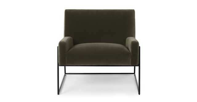 Regis Juniper Green Lounge Chair - Article
