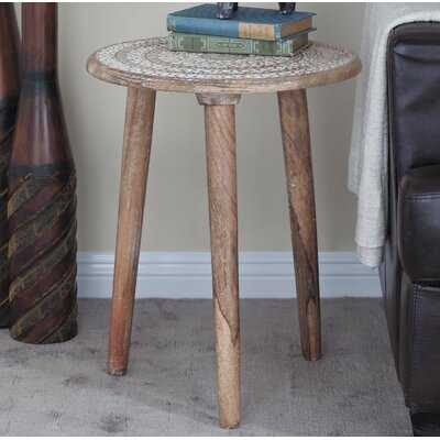 Aldina Solid Wood 3 Legs End Table - Wayfair
