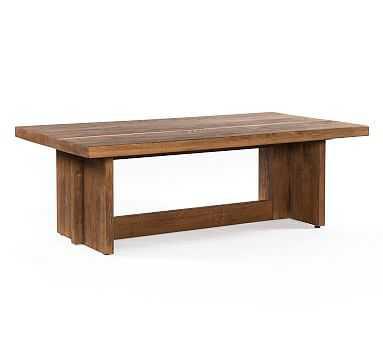 Hearst Coffee Table, Dark Smoked Oak - Pottery Barn