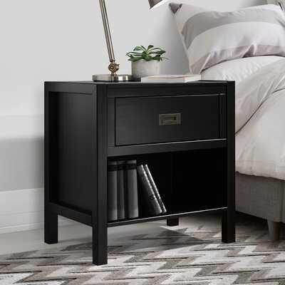 Lockley Solid Wood 1 Drawer Nightstand - Wayfair