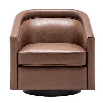 Hazley Barrel Swivel Chair - Wayfair