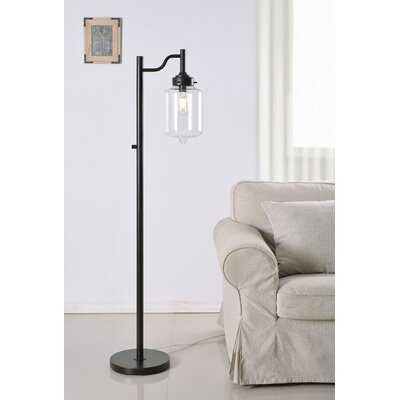 """Cave Spring 57"""" Arched Floor Lamp - Birch Lane"""